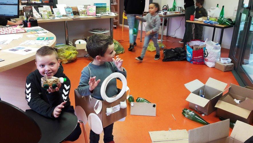 Le recycl'art, une activité plébiscitée par les enfants qui leur permet de révéler toute leur créativité et une démarche éducative et écocitoyenne a été mise en œuvre sur trois jours.
