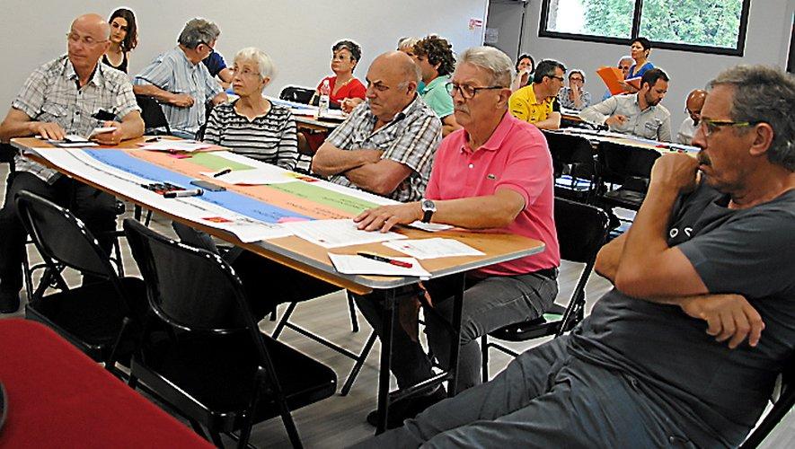Une vingtaine de personnes ont participé au rendez-vous.