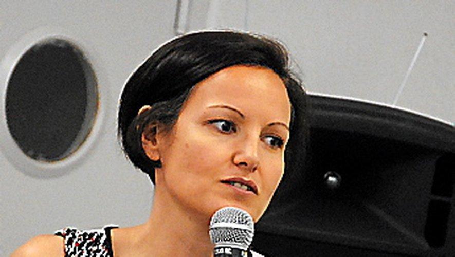 L'élue Aurélie Maillols.