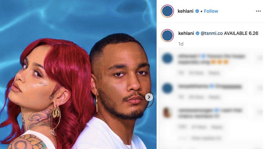 Kehlani sur Instagram 2019