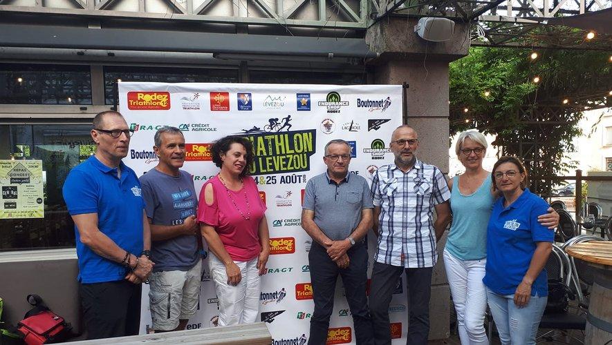 La présentation du triathlon du Lévézou s'est déroulée au Central, à Rodez.