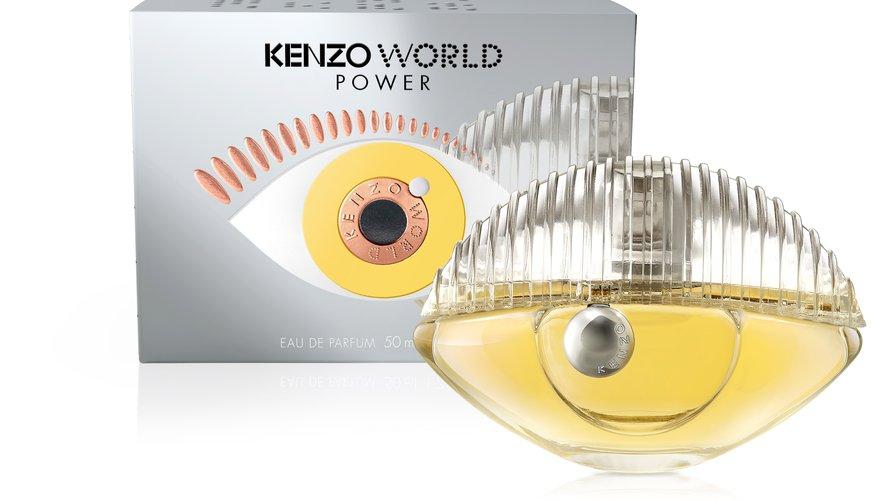 "Le parfum ""Kenzo World Power"" de Kenzo."
