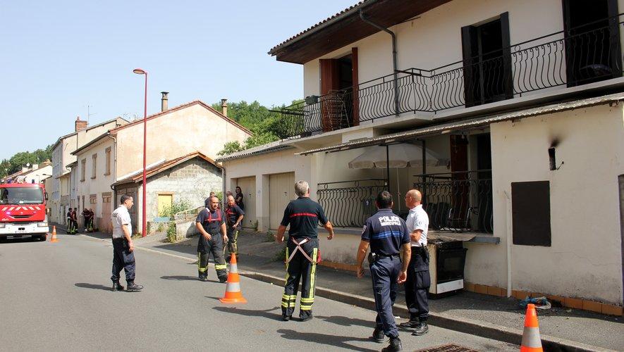 Le début d'incendie a été rapidement circonscrit.