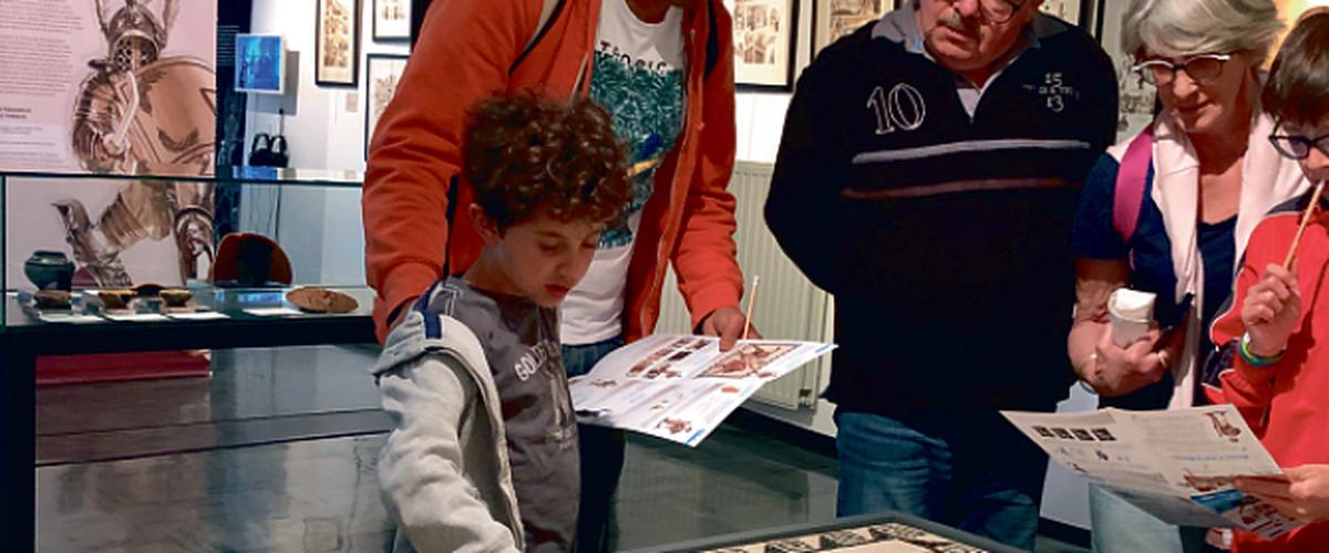 Musée Montrozier, expo Arelate Musée Moeurs