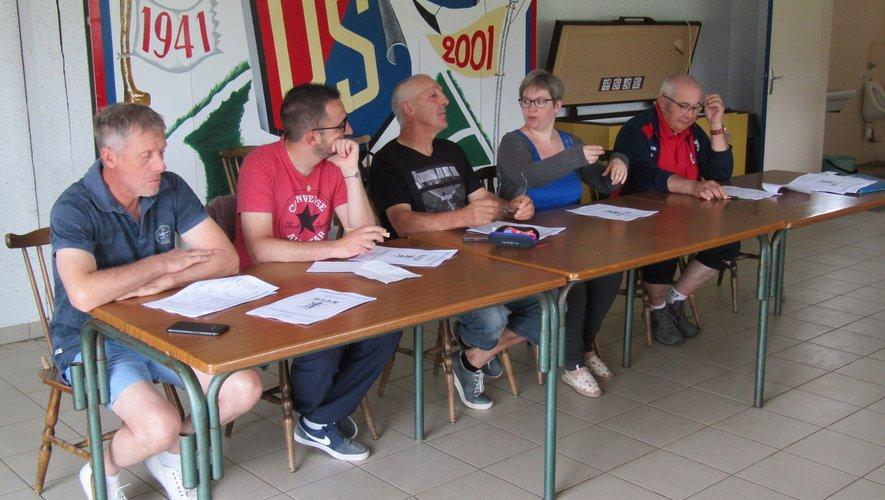 Le bureau a remercié les différents soutiens du club.