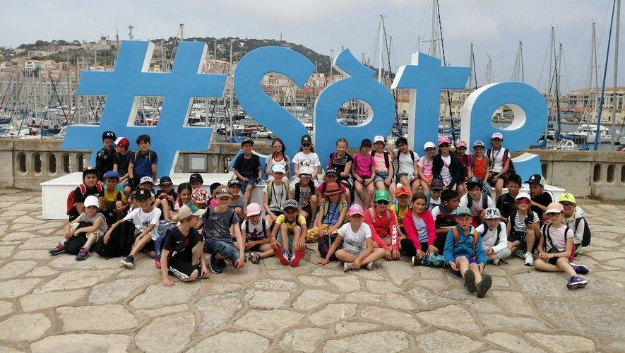 Les écoliers de Saint-Charles sont partis découvrir les charmes de Sète