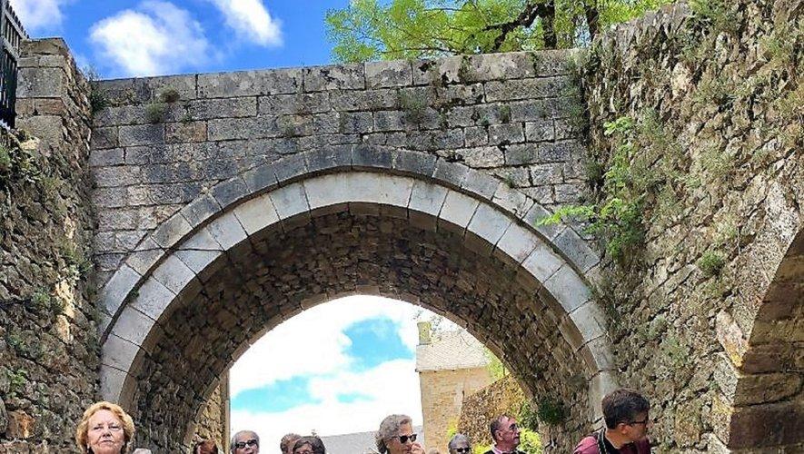 Les visiteurs ont découvert Montrozier et ses environs.
