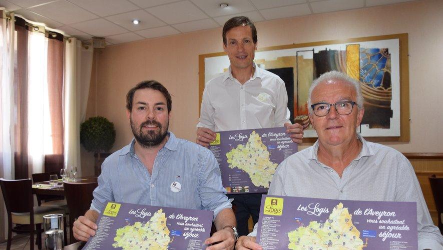 Les 200 000 sets de table sont d'ores et déjà en place dans les 31 Logis de l'Aveyron et dans les offices de tourisme du département.