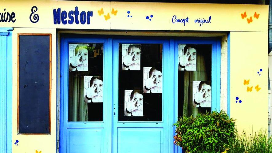 La boutique Marquise et Nestor où ont lieu les permanences du FFE les lundis et jeudis.