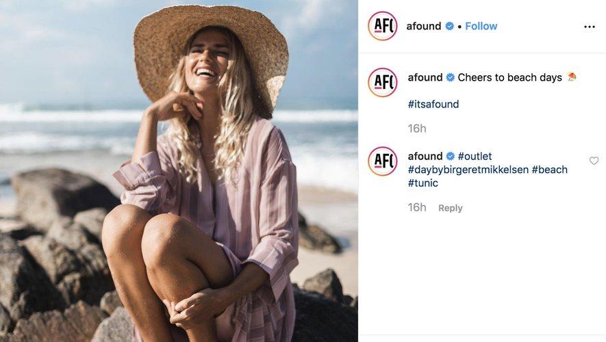 Afound sur Instagram 2019