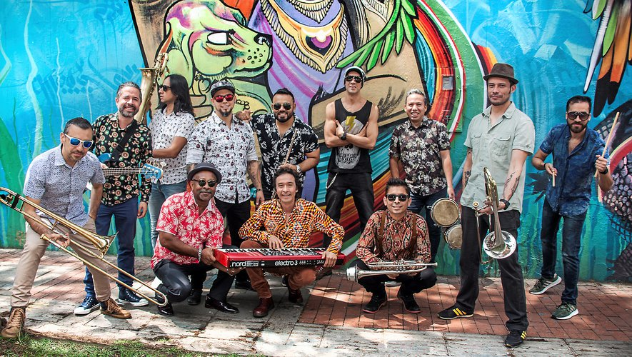 Six groupes, dont La-33, Los Guayabo Brothers  et La Mixtura participeront au festival.