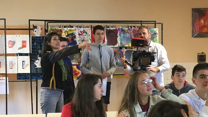 Les élèves font leur cinéma !