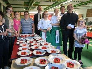 Sébastien Bras est venu avec trois cuisiniers du Suquet.