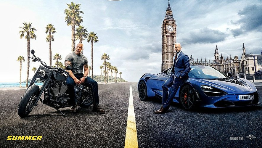 """""""Fast & Furious : Hobbs & Shaw"""" de David Leitch avec Dwayne Johnson et Jason Statham est un spin-off de la franchise """"Fast & Furious""""."""