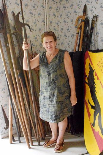 Maryse Laurens préside, depuis 2012, l'association des Amis de Clairvaux, à l'origine de cette vente.
