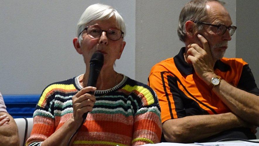 Francette Fricou a animé les débats.