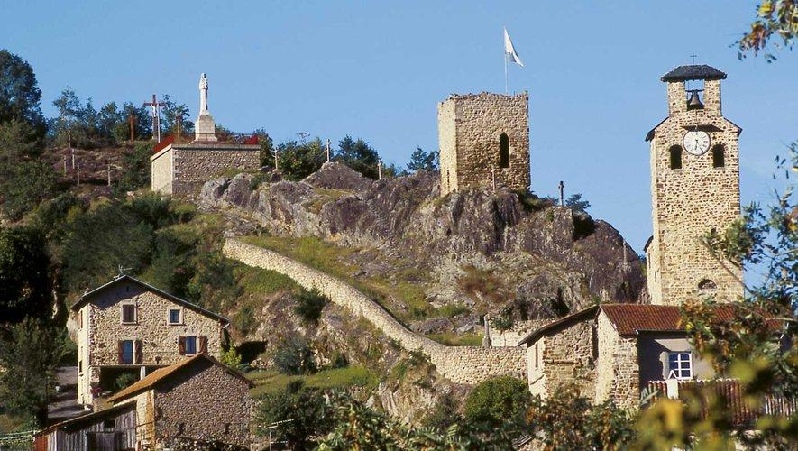 Le site du fort d'Aubin.