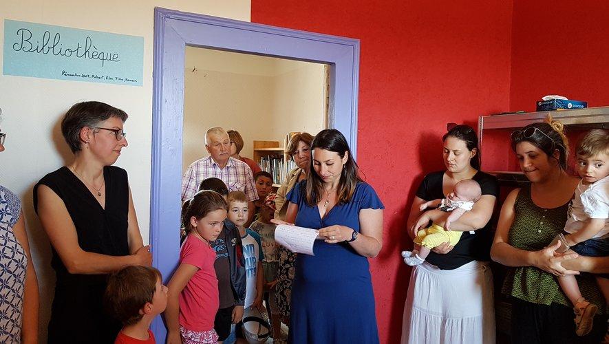 La bibliothèque scolaire inaugurée