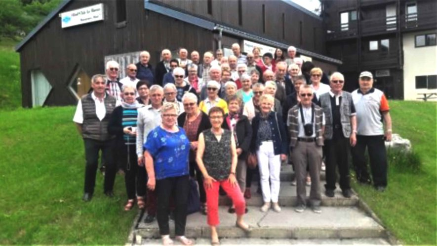 Balade sur les routes du Jura pour les membres du comité Fnaca.
