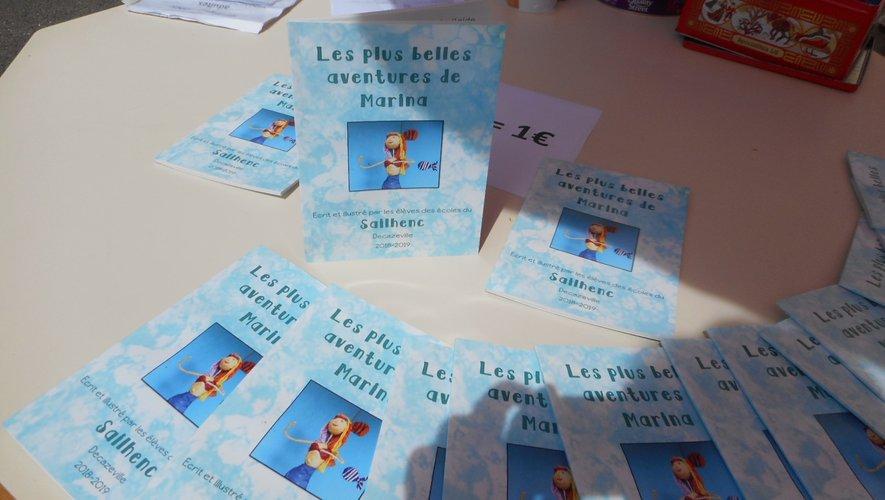 Le livre est à vendre jusqu'à vendredi à l'école du Sailhenc.