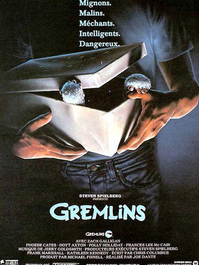 """Sorti en 1984, le film """"Gremlins"""" de Joe Dante raconte comment des petites créatures appelés les mogwaïs ravagent une ville après s'être transformés en de terribles Gremlins."""
