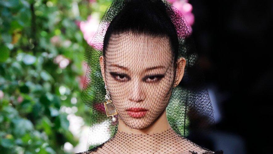 Beauté spectaculaire chez Christian Dior