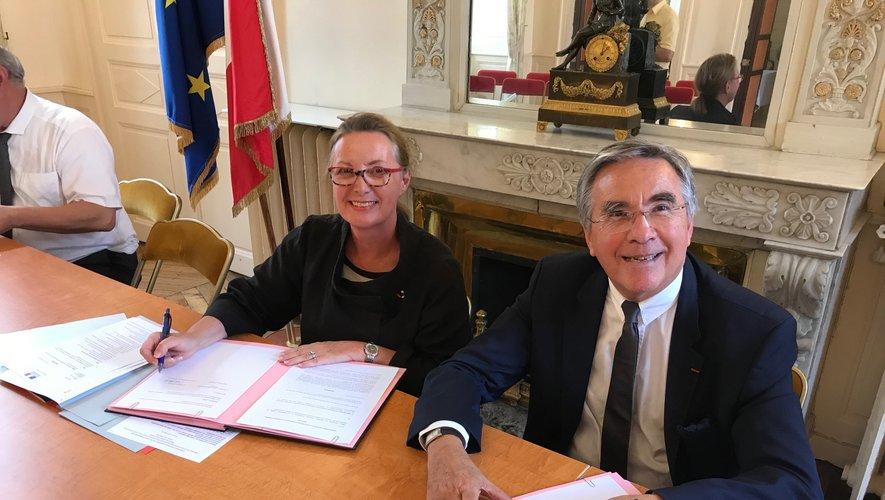La préfète et le président du conseil départemental ont signé ce mardi 2 juillet, une convention d'engagements réciproques autour du plan de lutte contre la pauvreté.