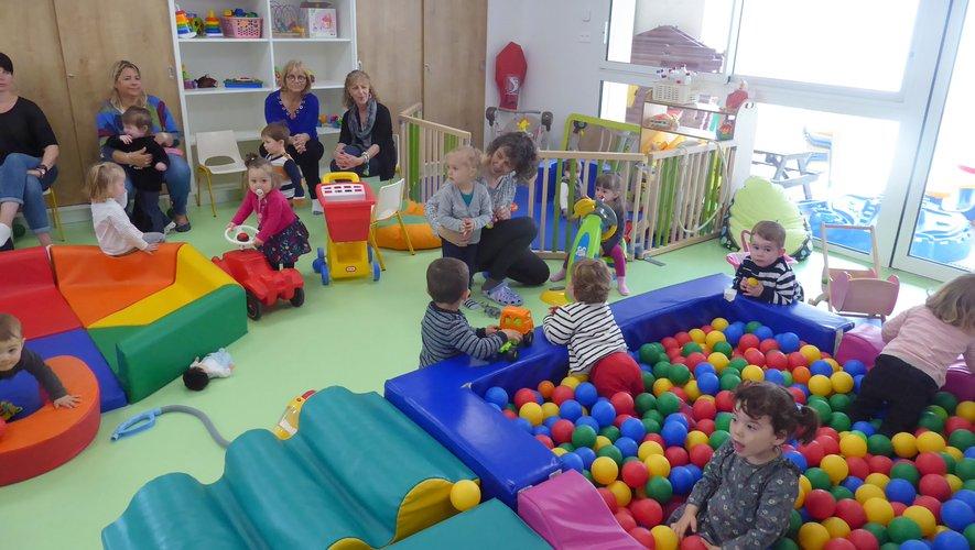 Valéry Couly accueille les bébés et leurs nounous dans des locaux plus fonctionnels.