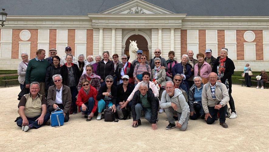 Le groupe a découvert les magnifiques spectacles du Puy du four..