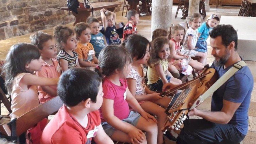 Musique, danse ou découverte, les enfants ont passé une journée inoubliable à Sylvanès