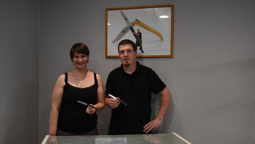 Fabien et son épouse Muriel, fiers de leur nouveau projet.