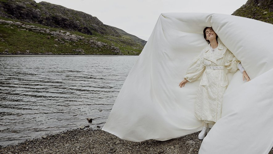 """La collection """"4 Moncler x Simone Rocha"""" est proposée en exclusivité chez Mytheresa."""
