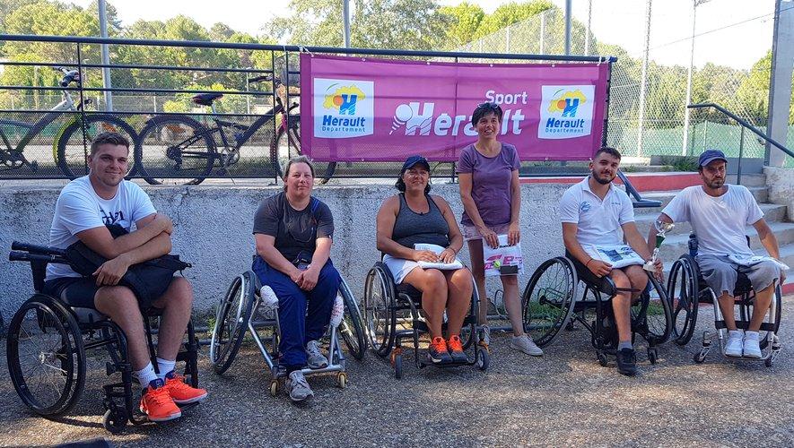 Premier tournoi officiel pour Sabine Facques