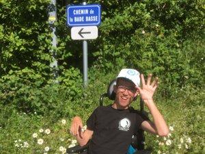 Jordan Crozes a testé le nouveau tracé de La Bade.
