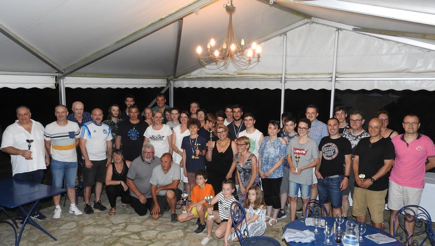 Des trophées et une belle fête de famille pour clôturer une saison prolifique.