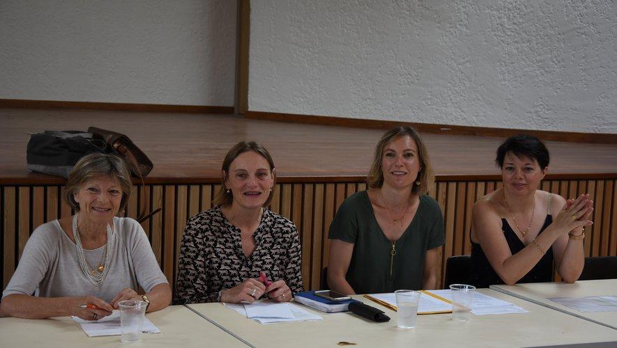 Nathalie Auguy-Périé va continuer à conduire les destinées de l'association.
