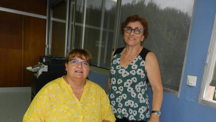 Sandrine peut compter sur l'expérience de Monique Marsan, commissaire de la foire.