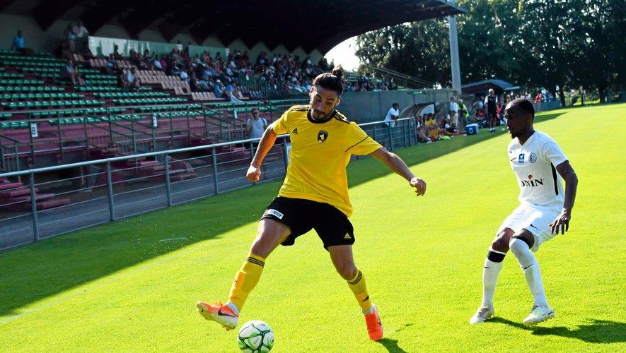 Ugo Bonnet, déjà en jambes,  a inscrit le deuxième but ruthénois.