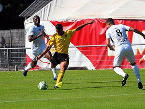Ouhafsa (ci-dessus) et Mathis (ci-dessous) ont inscrit deux des buts du Raf, respectivement le premier et le dernier.