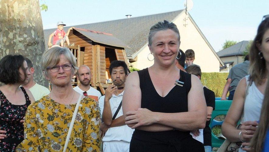 Joie et émotion pour le départ de Sophie Courrège et Séverine Caussanel.