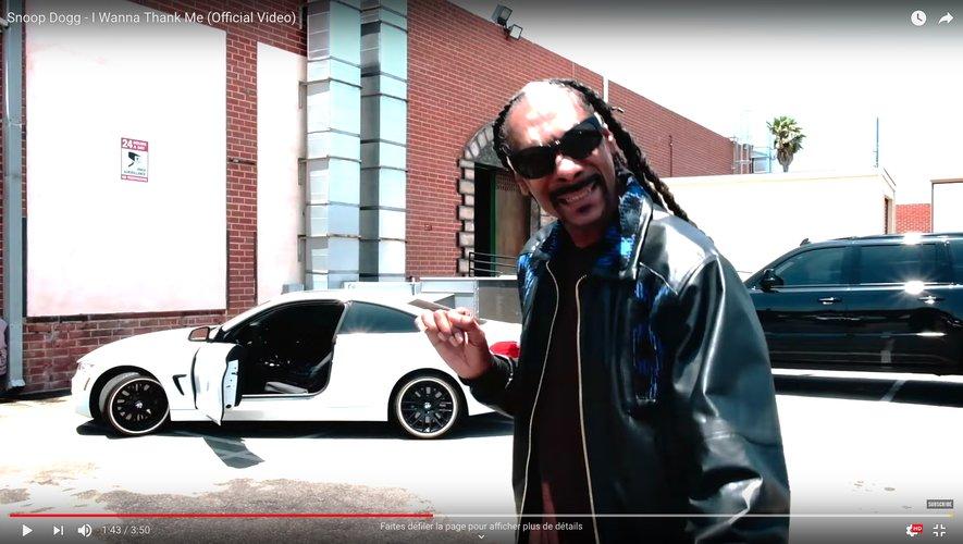 """Snoop Dogg, dans le clip du titre """"I Wanna Thank Me"""""""