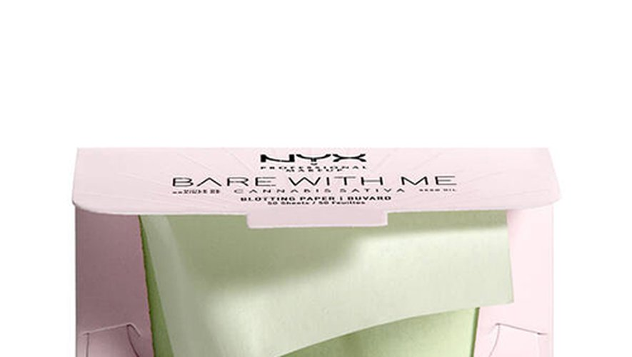NYX Professional - Makeup Bare With Me Cannabis Sativa Seed Oil Blotting Paper