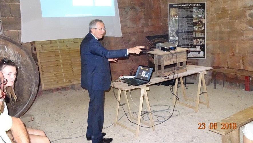 La conférence du docteur Bonneviale.