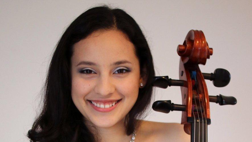 Sol Molina au violoncelle pour ce concert de haut niveau.