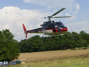 Les baptêmes de l'air en hélicoptère ont permis de découvrir la région.