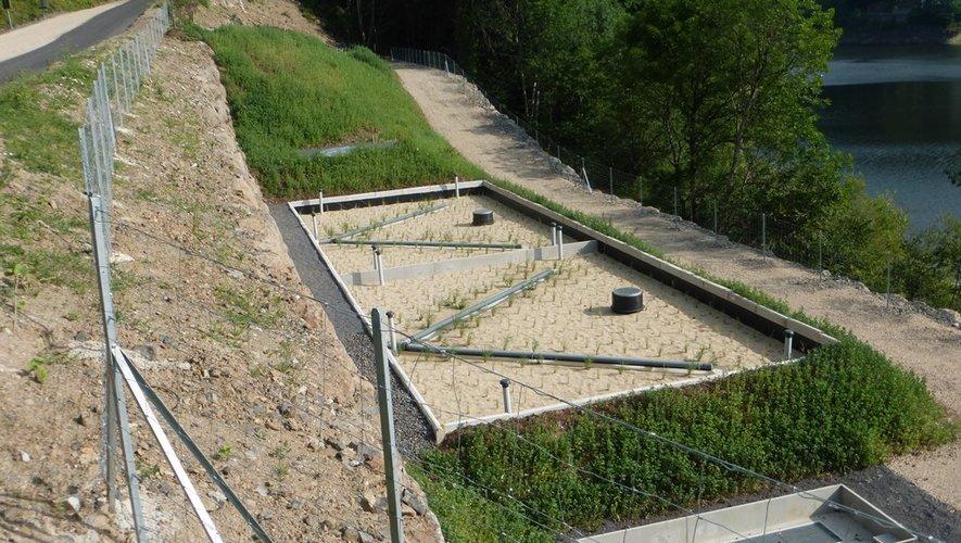 Une station d'épuration pour préserver l'environnement.