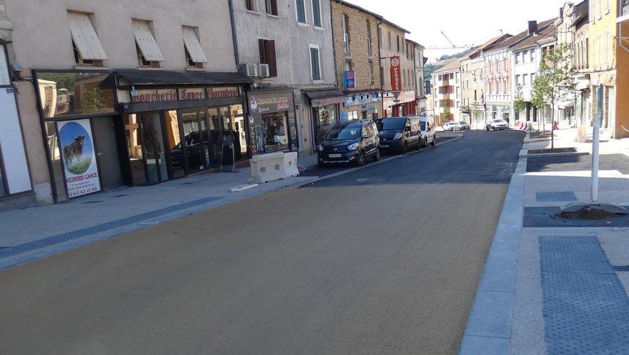 La rue Cayrade offre un nouveau visage plus accueillant.