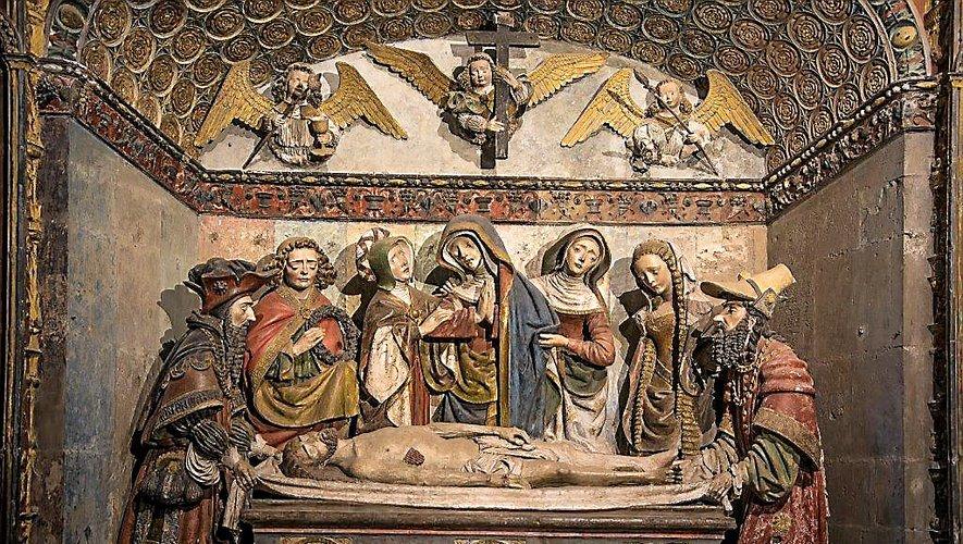 « La chapelle du Saint-Sépulcre occupe pleinement et remarquablement l'espace ; elle est intimement liée à l'histoire d'un homme », Galhard Roux, chanoine de la cathédrale de 1497 à 1534.