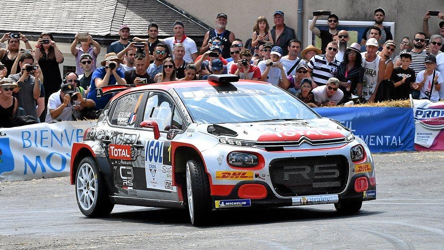 Yohan Rossel a inscrit son nom au palmarès du rallye du Rouergue.