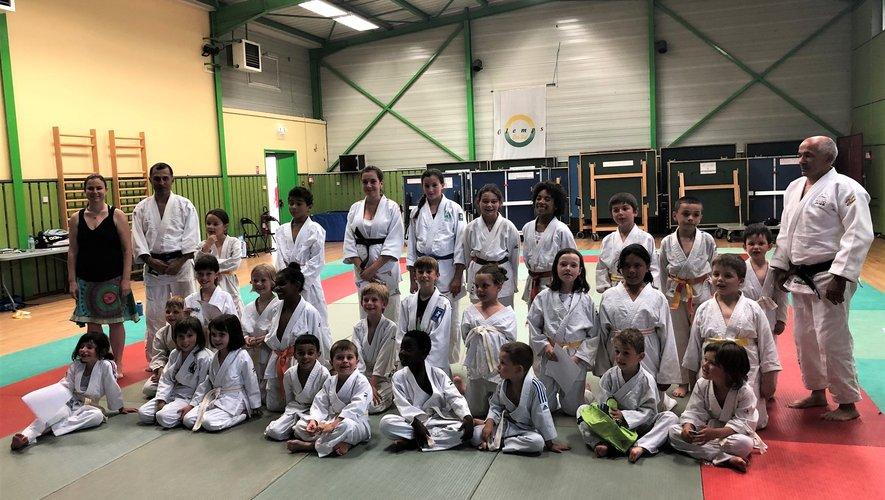 Dernier cours et remise des ceintures pour les jeunes judokas